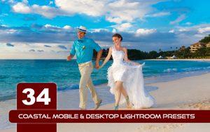 34 پریست لایت روم و Camera Raw و اکشن کمرا راو فتوشاپ تم ساحلی Coastal Lightroom Presets