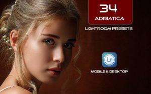 34 پریست لایت روم و Camera Raw و اکشن کمرا راو فتوشاپ Adriatica Lightroom Presets