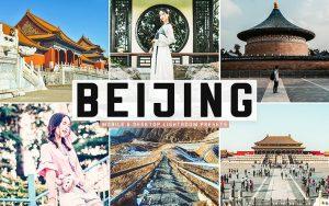 34 پریست لایت روم و Camera Raw و اکشن کمرا راو فتوشاپ Beijing Lightroom Presets