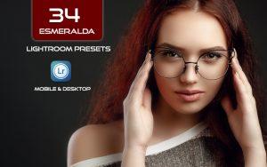 34 پریست لایت روم و Camera Raw و اکشن کمرا راو فتوشاپ Esmeralda Lightroom Presets