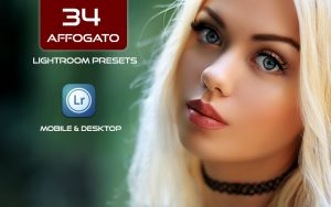 34 پریست لایت روم پرتره و Camera Raw و اکشن کمرا راو فتوشاپ Affogato Lightroom Presets