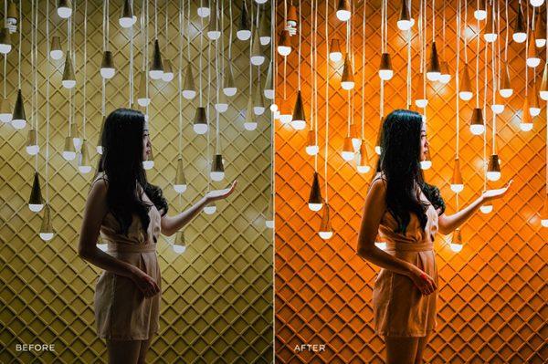 500 پریست لایت روم حرفه ای رنگ سینمایی Film Edition Bundle Lightroom Presets