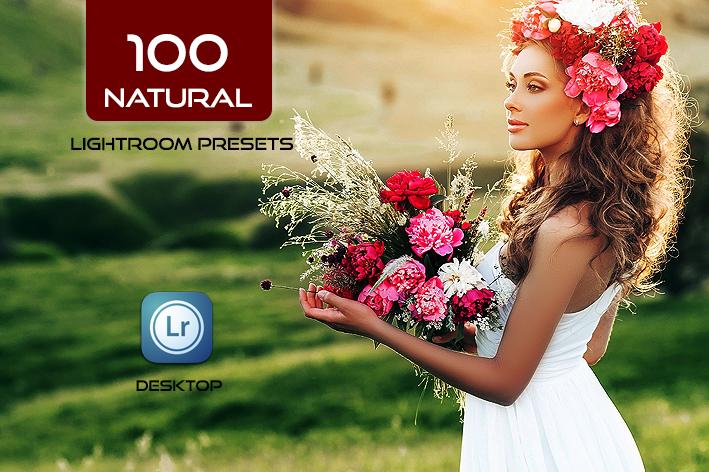 دانلود 100 پریست لایت روم 2021 حرفه ای طبیعت Natural Lightroom Presets