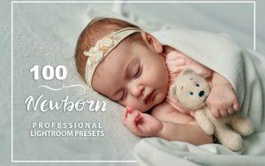 ۱۰۰ پریست لایت روم مخصوص آتلیه نوزاد و کودک Newborn Lightroom Presets