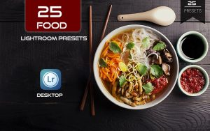 ۲۵ پریست لایت روم مخصوص عکس غذا Food Photography Lightroom Presets