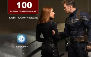 100 پریست لایت روم سینمایی Ultra Transform HD Lightroom Presets