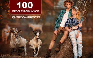 100 پریست لایت روم عاشقانه 2021 جدید Fickle Romance Lightroom Presets