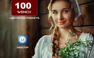 100 پریست لایت روم پرتره حرفه ای Wench Lightroom Presets