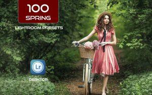 100 پریست لایت روم 2021 حرفه ای فصل بهار Spring Lightroom Presets