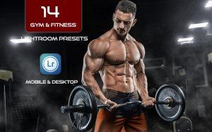 14 پریست لایت روم ورزش بدنسازی Gym And Fitness Lightroom Presets