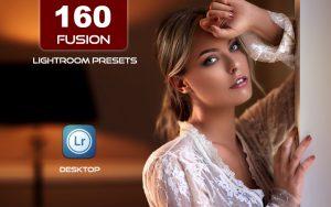 160 پریست لایت روم و کمرا راو رنگی حرفه ای Fusion Lightroom Presets
