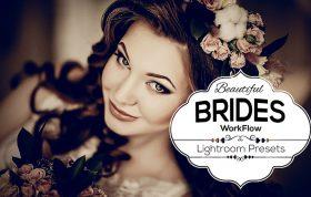 19 پریست لایت روم حرفه ای تم عروس زیبا Beautiful Brides Lightroom Presets