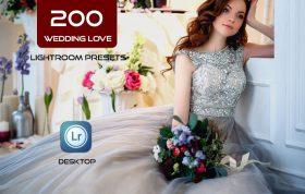 200 پریست لایت روم عروسی و پریست کمرا راو Wedding Love Lightroom ACR Presets