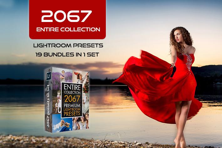 2067 پریست لایت روم حرفه ای 2021 و براش لایت روم Lightroom Presets Entire Collection