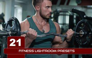 21 پریست لایت روم ورزشی حرفه ای FITNESS LIGHTROOM PRESETS