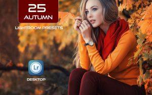 25 پریست حرفه ای لایت روم فصل پاییز Autumn Lightroom Presets
