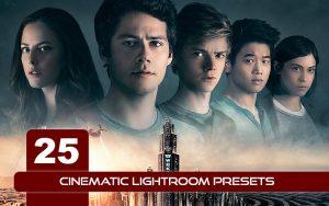 25 پریست رنگی سینمایی لایت روم Cinematic Lightroom Presets