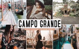 34 پریست لایت روم و Camera Raw و اکشن کمرا راو فتوشاپ Campo Grande Lightroom Presets
