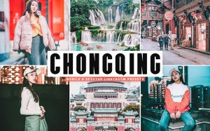 34 پریست لایت روم و Camera Raw و اکشن کمرا راو فتوشاپ Chongqing Lightroom Presets