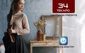 34 پریست لایت روم و Camera Raw و اکشن کمرا راو فتوشاپ Tekapo Lightroom Presets