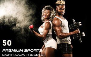 50 پریست لایت روم حرفه ای ورزشی Premium Sports Lightroom Presets