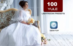 ۱۰۰ افکت رنگی لایت روم عروسی 2021 حرفه ای Yule Lightroom Presets