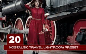 ۲۰ پریست لایت روم و پریست کمرا راو و LUT تم نوستالژی Nostalgic Travel Lightroom Preset