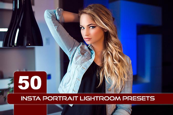 ۵۰ پریست لایت روم پرتره مخصوص اینستاگرام Insta Portrait Lightroom Presets