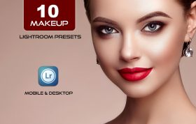10 پریست لایت روم رتوش حرفه ای Perfect Makeup Lightroom Presets