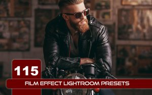 115 پریست لایت روم سینمایی حرفه ای Film Effect Lightroom Presets