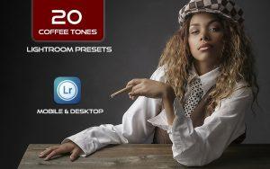 20 پریست لایت روم تم رنگ قهوه Coffee Tones Lightroom Presets