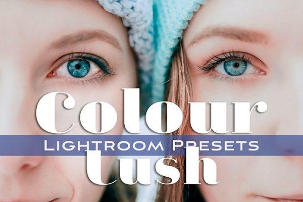 30 پریست لایت روم تم رنگی شاداب Colour Lush Lightroom Presets