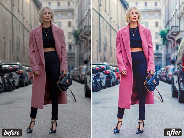 30 پریست لایت روم و پریست کمرا راو فتوشاپ Fashion Lightroom Presets