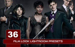 36 پریست لایت روم سینمایی و پریست کمرا راو فتوشاپ Film Look lightroom presets