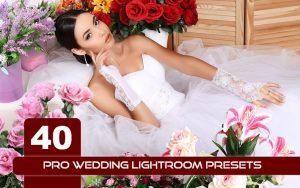 40 پریست لایت روم حرفه ای 2021 عروسی Pro Wedding Lightroom Presets