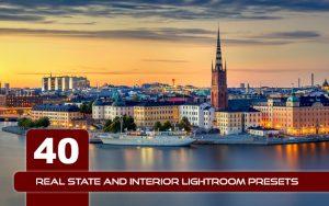 40 پریست لایت روم دکوراسیون داخلی Real State And Interior Lightroom Presets