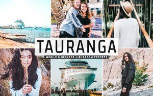 40 پریست لایت روم رنگی و Camera Raw و اکشن کمرا راو فتوشاپ Tauranga Lightroom Presets
