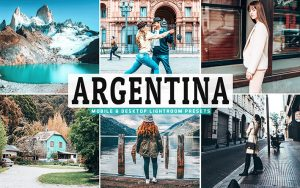 40 پریست لایت روم و Camera Raw و اکشن کمرا راو فتوشاپ تم آرژانتین Argentina Lightroom Presets