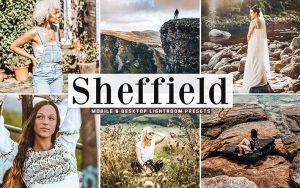 40 پریست لایت روم و Camera Raw و اکشن کمرا راو فتوشاپ تم شفیلد انگلیس Sheffield Lightroom Presets