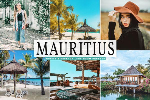 40 پریست لایت روم و Camera Raw و اکشن کمرا راو فتوشاپ جزیره موریتیوس ماداگاسکار Mauritius Lightroom Presets