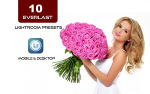 10 پریست لایت روم دسکتاپ و موبایل عشق جاودانی Everlast Lightroom Presets Bundle
