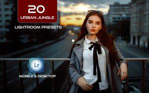 20 پریست لایت روم حرفه ای عکاسی خیابانی Urban Jungle Street Style Presets