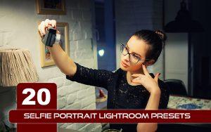 20 پریست لایت روم پرتره تم عکس سلفی Selfie Portrait Lightroom Presets