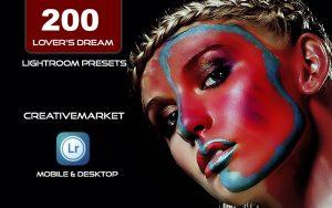 200 پریست لایت روم رنگی 2021 حرفه ای Preset Lover's Dream Bundle
