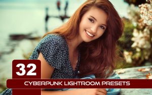 32 پریست لایت روم فوق حرفه ای رنگی Cyberpunk Lightroom Presets