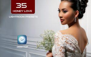 35 پریست لایت روم عروس و براش لایت روم تم عشق شیرین Honey Love Presets