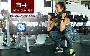 40 پریست لایت روم ورزشی و Camera Raw و اکشن کمرا راو فتوشاپ Athleisure Lightroom Presets
