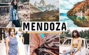 40 پریست لایت روم و کمرا راو و اکشن کمرا راو فتوشاپ تم مندوزا آرژانتین Mendoza Lightroom Presets