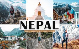 40 پریست لایت روم و کمرا راو و اکشن کمرا راو فتوشاپ تم نپال Nepal Lightroom Presets