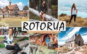 40 پریست لایت روم و Camera Raw و اکشن کمرا راو فتوشاپ Rotorua Lightroom Presets